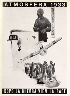 Bruno Munari fotomontaggio 1933
