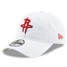 15d6cfe4 Men's Houston Rockets New Era White Core 49FORTY Fitted Hat, Your Price:  $29.99
