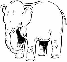24 Best y Blank Pattern Elephants images in 2016