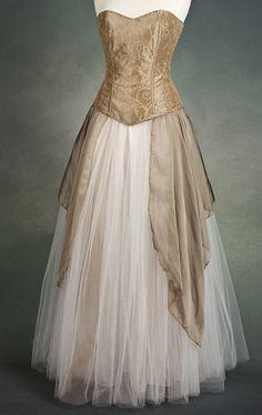 Mariposa Dress - Gothic, romantic, steampunk clothing