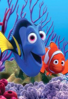 Finding Dory♡ Dory And Hank The Septopus Ya Know