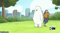 We bare bears ice bear   image tagged in gifs   made w/ Imgflip video-to-gif maker