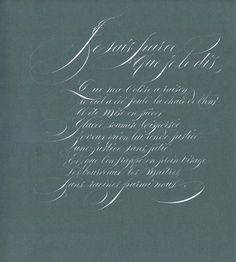 brunogigarel.calligraphie.com Anglaise - Poésie ininterrompue, gouache sur papier, 2010, 40 × 30 cm
