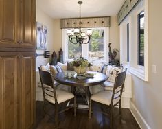 Giant fork......French Country Breakfast Nook Design, Pictures, Remodel, Decor and Ideas - page 2