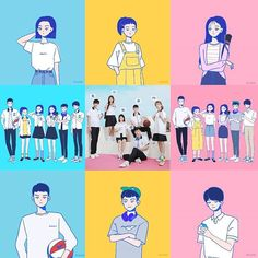 A-Teen Korean web drama. Teenager Wallpaper, Teen Wallpaper, Teen Images, Teen Pictures, Teen Pics, Korean Art, Korean Drama, Drawing Reference, Drawing S