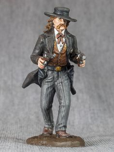 TOY SOLDIER Wild Bill Hickok. American by RoninMiniatures on Etsy