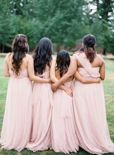 Bridesmaids: http://www.stylemepretty.com/2015/04/27/marie-antoinette-inspired-washington-farm-wedding/ | Photography: Coco Tran - http://www.cocotran.com/