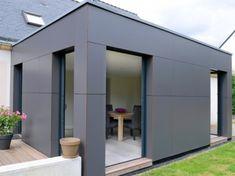 Exterior Cladding Ideas Architecture House Extensions Ideas For 2019 Cladding Design, House Cladding, Exterior Cladding, Cladding Ideas, House Facades, Bungalow Extensions, House Extensions, Roof Extension, Archi Design