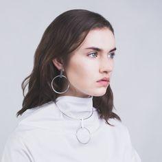 Thursday Sunday X Holly Ryan - Minimalist Hoop Earrings