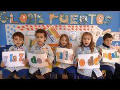 """""""Solo tres letras"""" - Ed. Infantil 3 años - Colegio Lar 14/15"""
