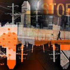 "Saatchi Art Artist Misha Dontsov; Photography, """"Tao Of New York"" Monotype"" #art"
