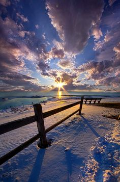 "And I Will Give You Rest. - ""Come to me, all you who are weary and burdened, and I will give you rest."" Matthew 11:28 Wisconsin Horizons By Phil Koch. http://phil-koch.artistwebsites.com"