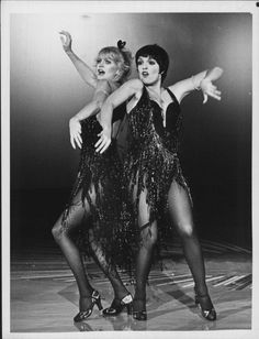 Goldie Hawn and Liza Minnelli
