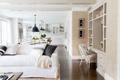 nice Salle à manger - Westport Modern Farmhouse - Living room, dining room, kitchen - open concept... Check more at https://listspirit.com/salle-a-manger-westport-modern-farmhouse-living-room-dining-room-kitchen-open-concept-2/