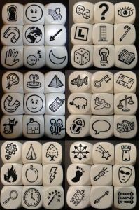 Photos and illustrations of the die faces in Rory's Story Cubes Story Cubes, Creative Writing, Writing Tips, Writing Prompts, Story Prompts, Teaching Activities, Activities For Kids, Kindergarten Learning, Teaching Ideas
