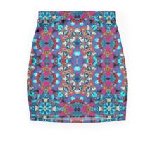 Crossing Colours Mini Skirt