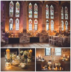 Stunning centrepieces and styling with Lauren Grey at Berkeley Castle  www.sororidesign.co.uk