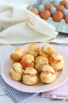 #ptitchef #recette #cuisine #paques #recipe #cooking #easter #menu #chou #apéritif #saumon #salmon