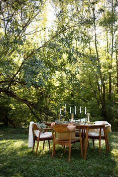 Outdoor Dining, Outdoor Spaces, Outdoor Decor, Farm Lifestyle, Backyard, Patio, Green Life, Its A Wonderful Life, Garden Inspiration