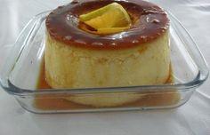 Pudim de Laranja - Ingredientes    7 ovos 500 ml de leite 9 colher de sopa de açúcar Raspa de uma laranja (sem parte branca) Essência de baunilha