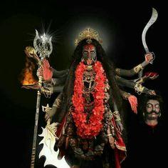 Jai maa Kali -The Mother- Kali Mata, Kali Shiva, Kali Hindu, Durga Maa, Shiva Shakti, Lord Shiva, Indian Goddess Kali, Goddess Lakshmi, Indian Gods