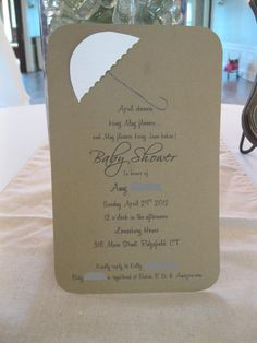 baby shower invitation april showers brings may flowers and may