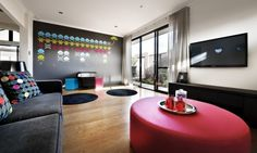 Kids activity room cool design