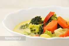 Zupa brokułowa z curry, Zupa dla dzieci, Zupa warzywna #food http://najsmaczniejsze.pl