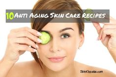 Great beauty and anti aging skin care tips to take care of the skin throughout different ages. Natural ways to take care of the skin and effective skin care products for your age.