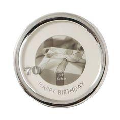 Birthday Round Photo Frame - 70 or 80 80th Birthday, Birthday Gifts, Milestone Birthdays, Gift Ideas, Frame, Men, Birthday Presents, Picture Frame, Birthday Favors