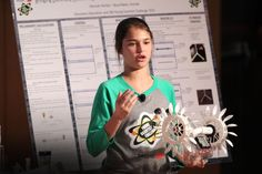 It was wonderful getting to know Hannah, a ninth-grader in Florida whose sponsored child inspired her to invent an award-winning energy device.