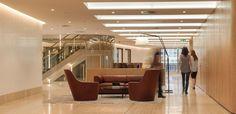 DLA office lobby