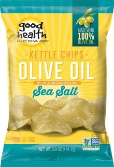 Good Health Kettle Style Olive Oil Potato Chips, Sea Salt - mmm these are amazing!
