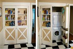 secret laundry room
