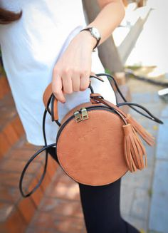 leather bag rounded handle pattern - Google Search
