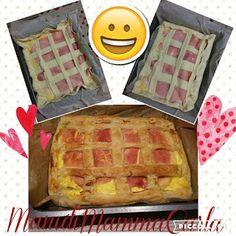 ManidiMammaCarla: Torta salata ricotta e prosciutto