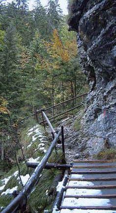 """Aus der Serie """"Allgäuer Geotope"""" stellen wir kurz vor: Die Reichenbachklamm bei Pfronten"""