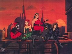 The First Ladies of Gotham | Batman the Animated Series