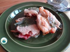 Saltimbocca di maiale con speck e fontina
