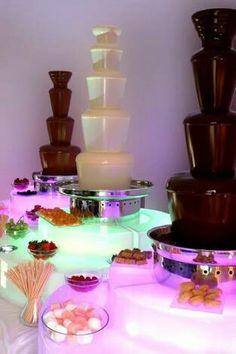 Cascata de chocolate 2