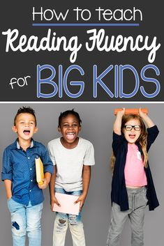 Are you struggling to find a way to teach reading fluency to your big kids in upper elementary?  You will love this fluency intervention custom made for your students because it really WORKS!  #readingfluencyactivities #readingfluencyintervention #readingfluencyassessment #readingfluencystrategies #fluencypractice #readingskills #readingstrategies
