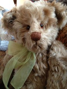Cedric, A vintage bear by Cathy Leavy   *