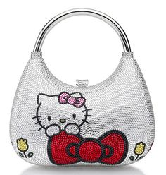 Judith Leiber is out with Red Bow Hobo 'Hello Kitty' Bags!