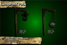 Medieval Lamppost Pack has just been added to GameDev Market! Check it out: http://ift.tt/1Z3AlHF #gamedev #indiedev