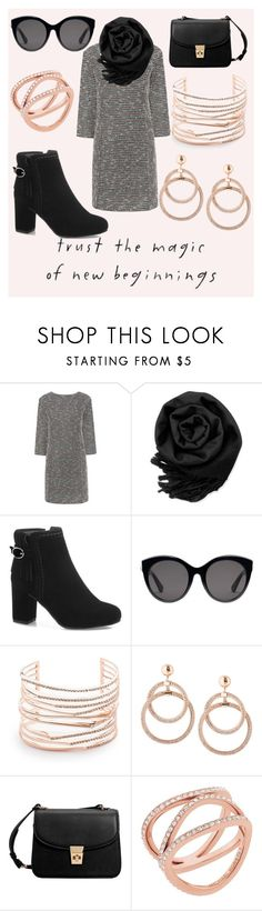 """winter outfit"" by cecilvenekamp ❤ liked on Polyvore featuring TC Fine Intimates, Paul & Joe Sister, Gearonic, Gucci, Alexis Bittar, MANGO and Michael Kors"