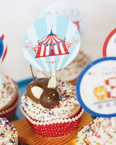 Circus Birthday Theme with chocolate mice!