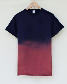 ANDCLOTHING — Nightfall Dip Dye Tee (£11.00) - Svpply