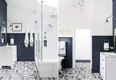 Our First 2020 Feel Good Makeover Could Be You - Let's Make Your Life Much Brighter - Emily Henderson Small Bathroom, Master Bathroom, Bathroom Ideas, Room Darkening Shades, Cabinet Space, Decorating Small Spaces, Beautiful Bathrooms, Room Interior, House Design