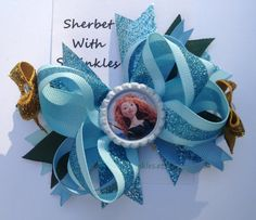 Merida  Hair Bow Brave Hair Bow with by sherbetwithsprinkles, $7.25