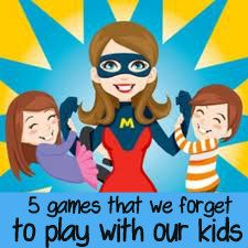 fun, SIMPLE games to play RIGHT NOW with your kids!
